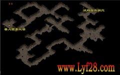 隐藏沃玛自然洞穴1.76祖玛神途复古地图